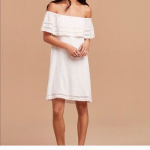 Wilfred size medium Emmie dress in white/ivory
